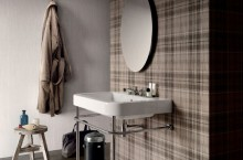 Под Tailorart Brown 60/60, стени Tailorart Light 30/60, Tartan Dark 60/60